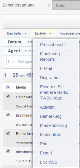 Monitoring Reports1