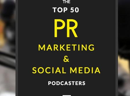 Die Top 50 PR-, Marketing- und Social Media-Podcaster aus den USA auf Twitter
