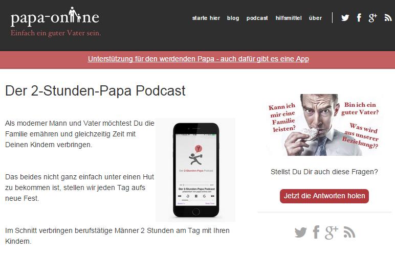 """""""Vor einer Anfrage sollten sich PRler fragen, ob ihr Wissen über Online-Marketing noch aktuell ist"""" - Interview mit dem Väterblog Papa-Online"""
