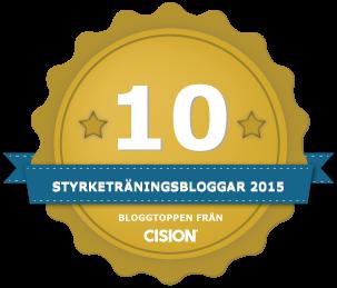 Bloggtopp styrketräningsbloggar