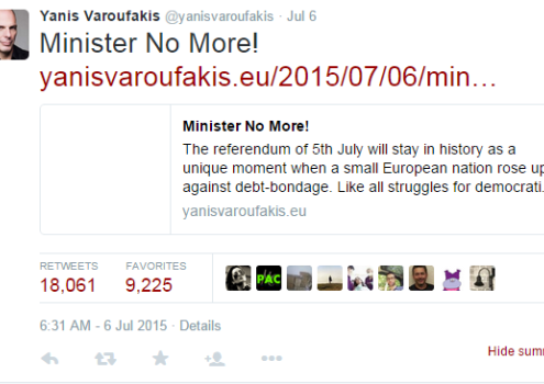Minister No More