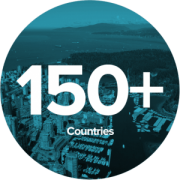 150+ Countries