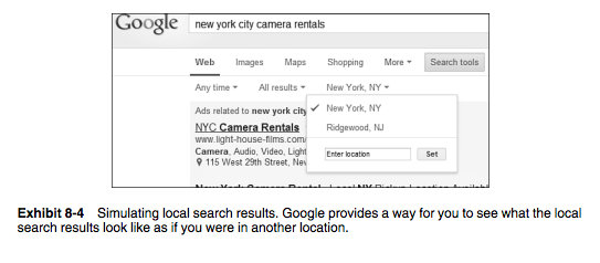 Optimize Content for Search - Local Searches