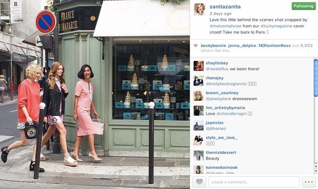 Photo courtesy of Zanita Whittington Instagram @zanitazanita