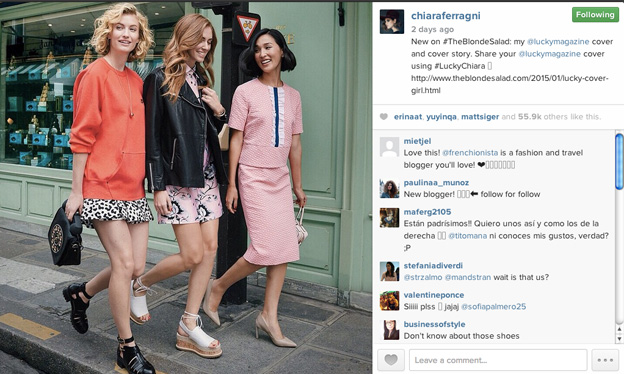 Photo courtesy of Chiara Ferragni Instagram @chiaraferragni