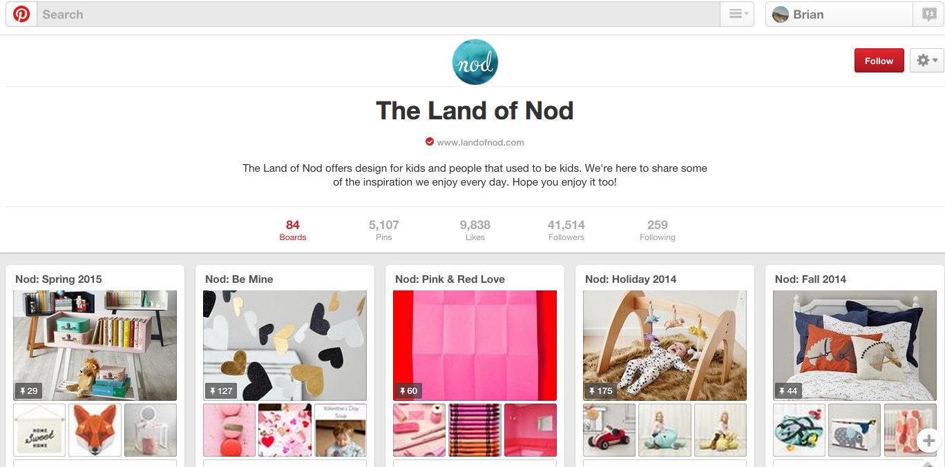 Land of Nod - Rich Media for PR
