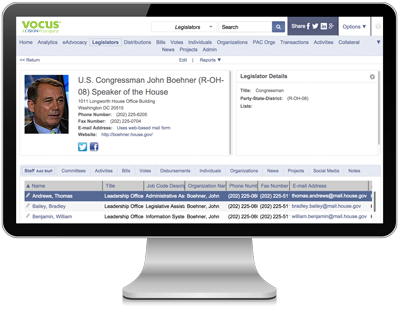Government Relations Software