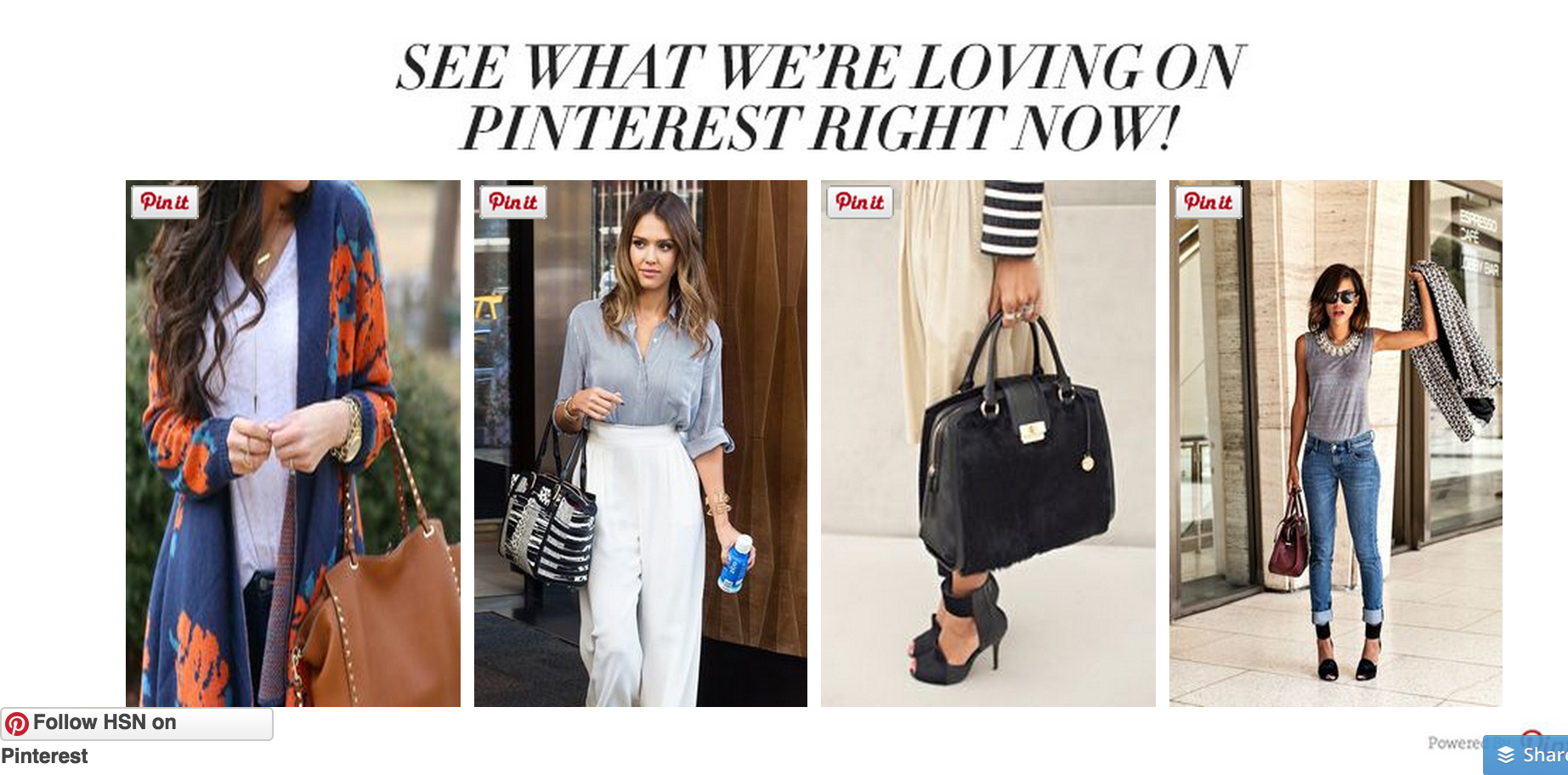 HSN Pinterest for Communications