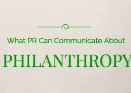 PR & Philanthropy