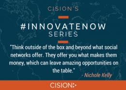 #InnovateNow - Nichole Kelly