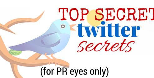 Twitter trends - Publicity