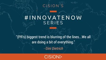 #innovateNow - Gini Dietrich #1