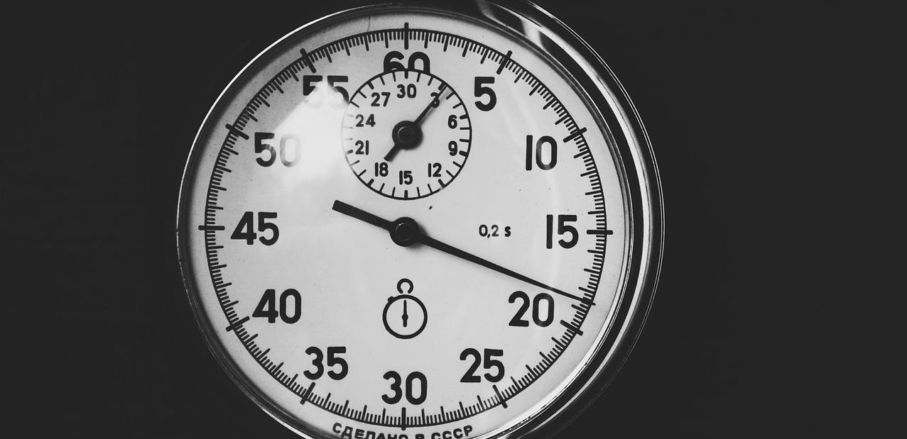 PR Life Lessons - Stopwatch