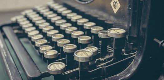 Journalism-Typewriter