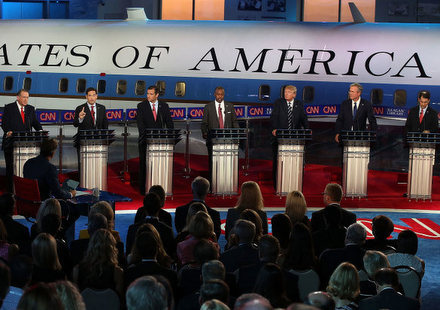 Republican Presidential Debate Social Buzz