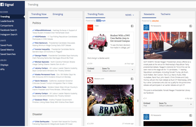 """Was PR-Profis über Facebooks Tool """"Signal"""" wissen sollten"""