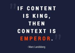 Context Is Emperor