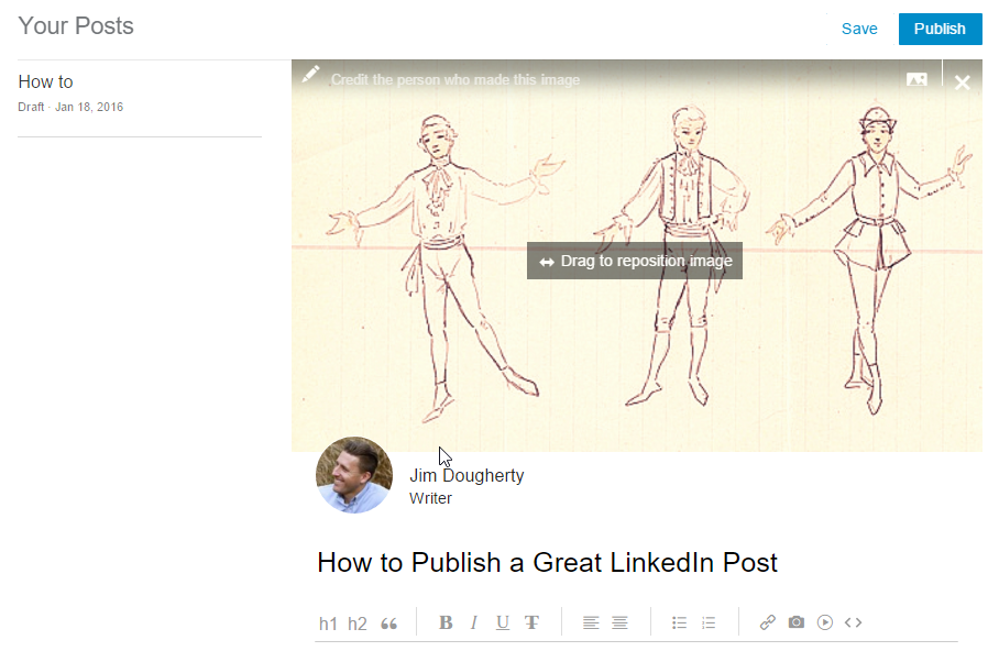 Cision - How to Publish a Great LinkedIn Publisher Post