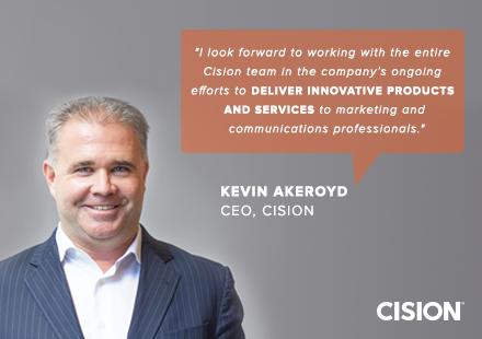 Cision 新任全球CEO:帮助企业提高数字化实效能力,获取发布渠道和媒体资源