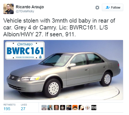 Car-tweet