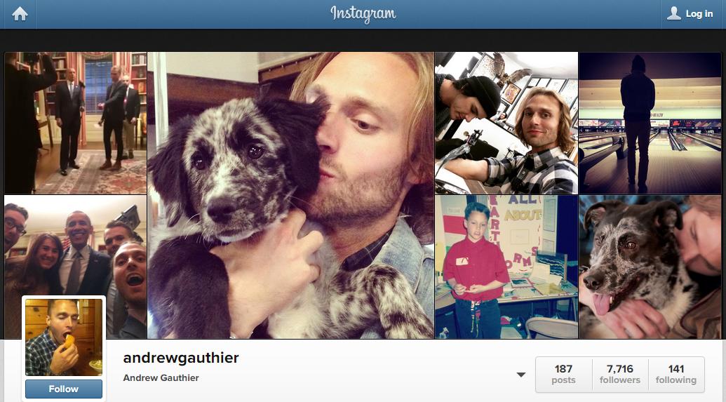 Andrew Gauthier - Instagram