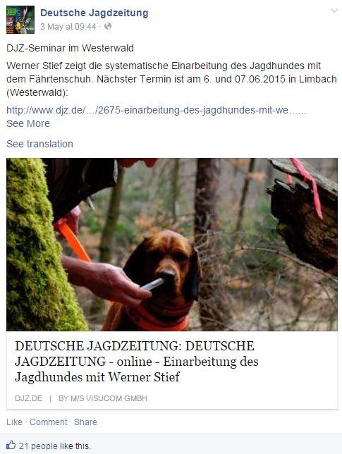 Outdoor - Die Top 10 Magazine auf Facebook in Deutschland
