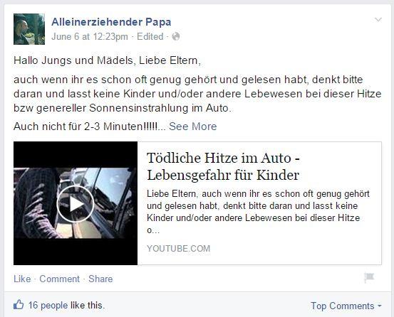 Väter – Die Top 10 deutschen Blogs auf Facebook