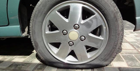 Press Release Mistakes for PR Pros - Flat Tire